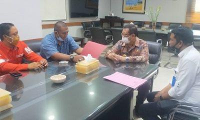 CEO Memo X Group Prayogi Pangestu jalin silaturahmi ke Bupati Tulungagung Maryoto Birowo.